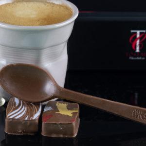 cuiller en chocolat