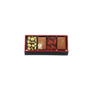 ecrin assorti 4 chocolats
