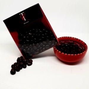 raisins macérés au Sauterne enrobés de chocolat noir